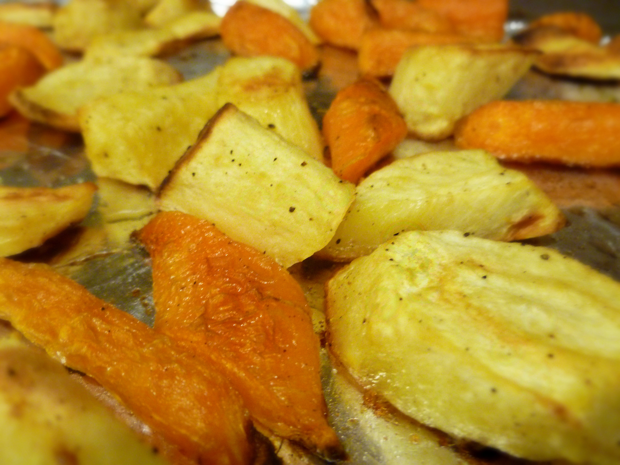 Roasted Parsnips and Carrots | Running Into Life